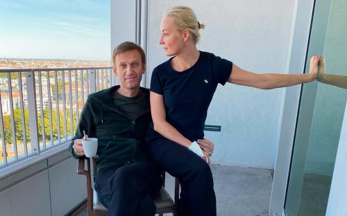 Алексей и Юлия Навальные