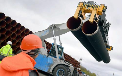 Трубы Nord Stream 2