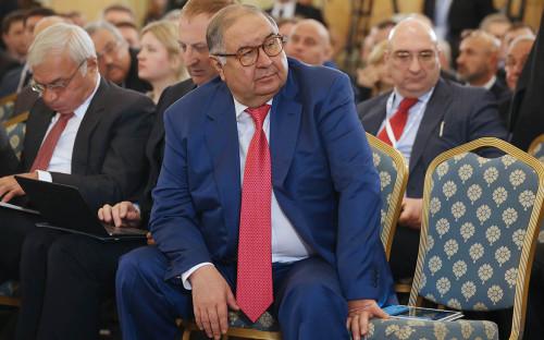<p>Алишер Усманов</p>  <p></p>