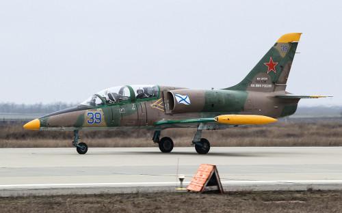 <p>Военно-учебный самолет Л-39</p>
