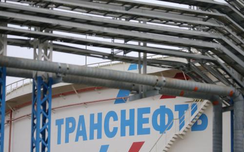 Топливохранилище «Транснефти» в порту Приморск