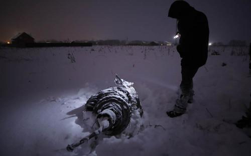 Самолет пропал с радаров спустя несколько минут после вылета из аэропорта Домодедово. Ан-148 упал недалеко от села Степановское в Раменском районе Подмосковья.