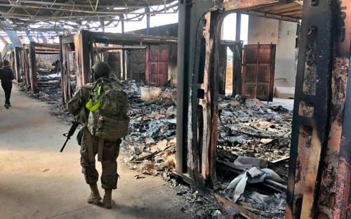 США признали наличие пострадавших при ракетном ударе по базе в Ираке