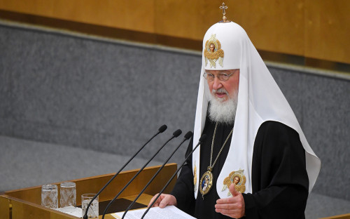 <p>Патриарх Кирилл</p>