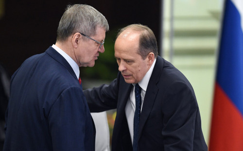 Юрий Чайка (слева) и Александр Бортников