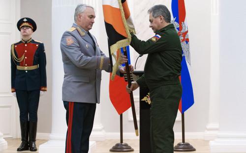 <p>Андрей Картаполов и Сергей Шойгу</p>