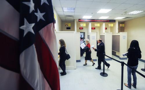 <p>Консульский отдел посольства США в Москве</p>  <p></p>