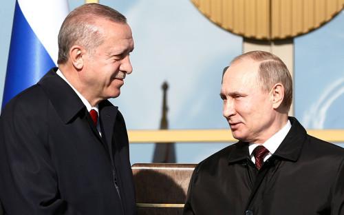 Реджеп Тайип Эрдогани Владимир Путин