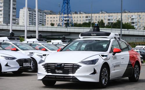 Беспилотный автомобиль компании «Яндекс».
