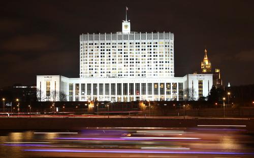 Вид на Дом правительства Российской Федерации