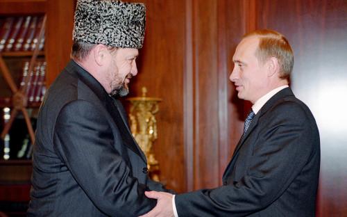 Ахмат Кадыров иВладимир Путин