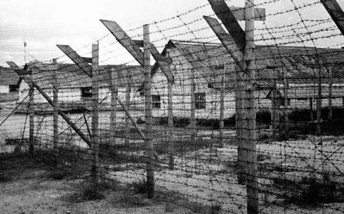 Финский концентрационный лагерь в городе Медвежьегорске, республика Карелия