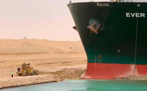 Фото:Autoridad del Canal de Suez / AP