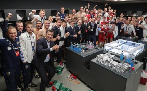 Фото:Twitter сборной России