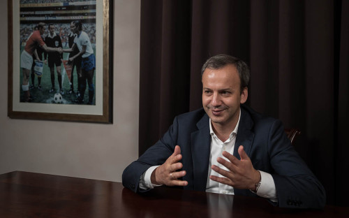 <p>Аркадий Дворкович</p>  <p></p>
