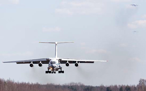<p>Самолет Ил-76 ВКС России&nbsp;</p>