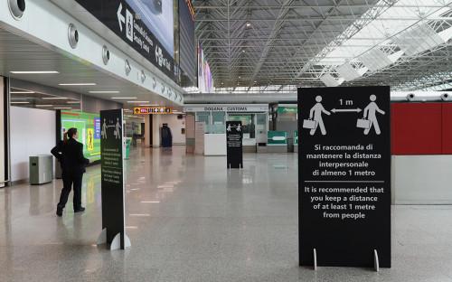 Международный аэропорт имени Леонардо да Винчи, Рим