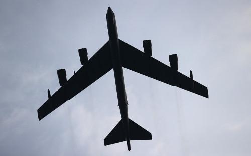 Бомбардировщик B-52H ВВС