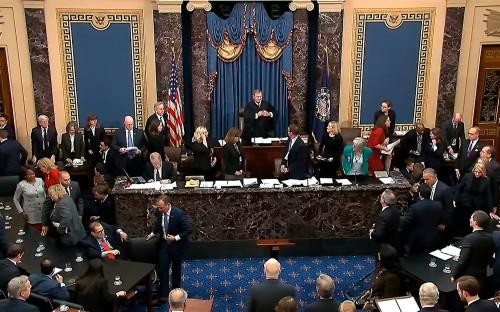 Фото:Senate Television / AP