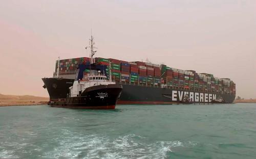 Фото:Suez Canal Authority / AP