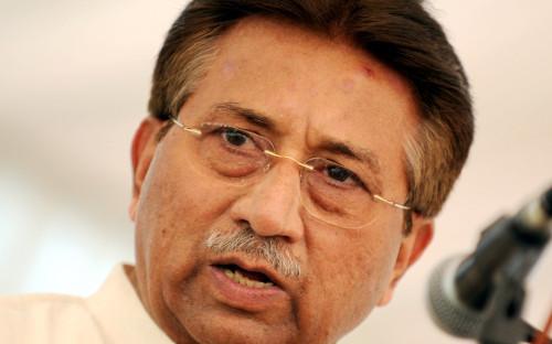 На фото экс-президент Пакистана Первез Мушарраф