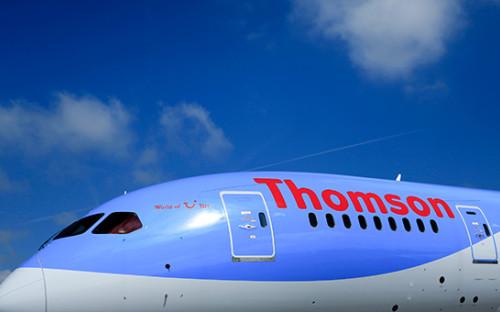 Самолет авиакомпании Thomson. Архивное фото