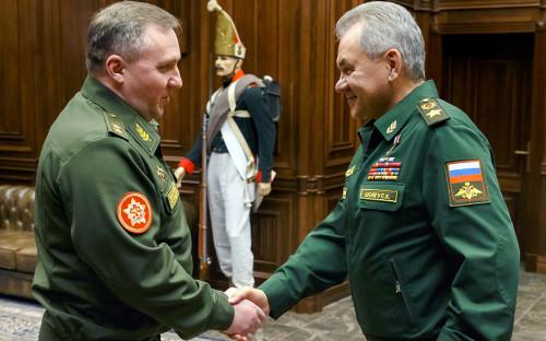 Виктор Хренин и Сергей Шойгу