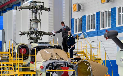 Сборка боевого разведывательно-ударного вертолета
