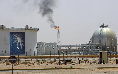 Добыча нефти компанией Saudi Aramco
