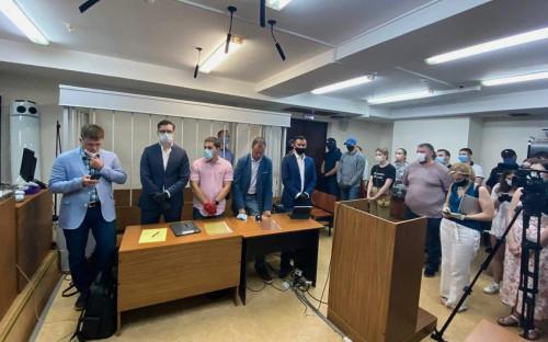 <p>Оглашение решения Лефортовского суда об аресте Ивана Сафронова</p>