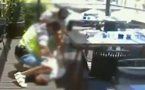 Скриншот из видеоPolicía Nacional / Twitter