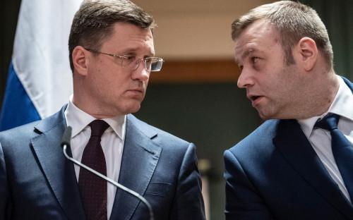 Александр Новак и Алексей Оржель