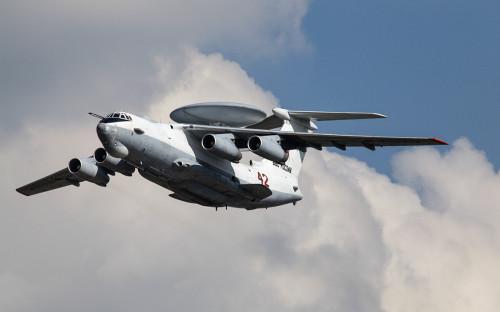 Самолет дальнего радиолокационного дозора А-50