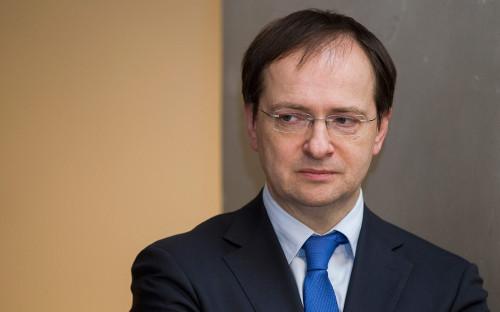 <p>Владимир Мединский</p>