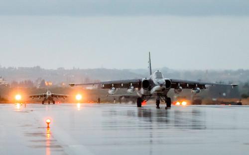 Российская авиационная группа на аэродроме Хмеймим. Архив