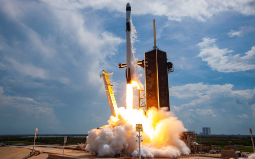 Фото:SpaceX via Getty Images