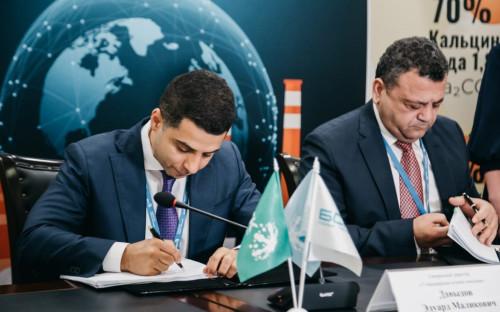 Эдуард Давыдов и Раймонд Абу Фадель подписали контракт на разработку пред-ТЭО