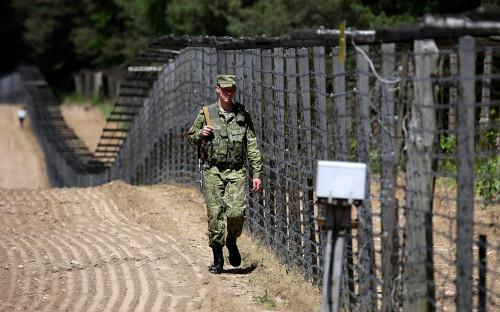<p>Белорусско-польская граница</p>