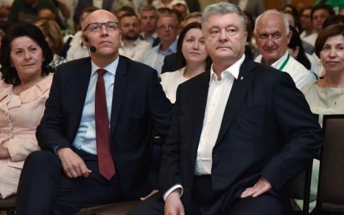 Андрей Парубий и Петр Порошенко