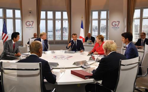 Саммит G7 2019 года в Биаррице, Франция