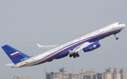 Самолет специального назначения Ту-214ОН, построенный для выполнения инспекционных полетов по программе «Открытое небо»