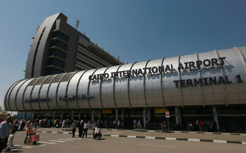 Вид на аэропорт Каира