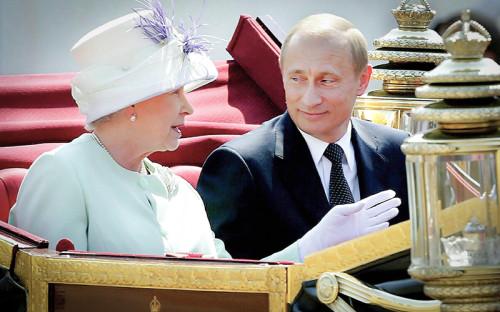 В июне 2003 года Владимир Путин опоздал на14 минут навстречу скоролевой Великобритании ЕлизаветойII. Кроме королевы президента также ждали члены британского парламента ипремьер-министр Тони Блэр. Свое опоздание российская сторона тогда списала напробки надорогах Лондона