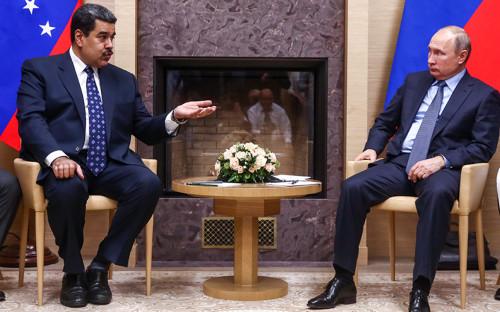 Николас Мадуро и Владимир Путин. 5 декабря 2018 года