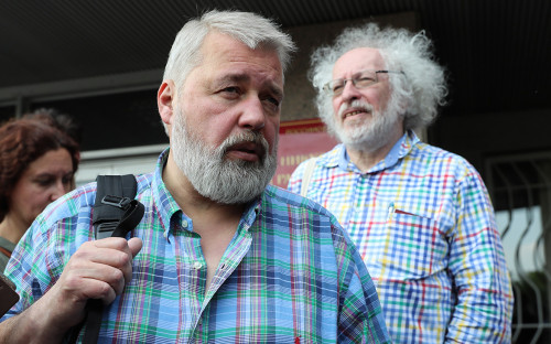 Дмитрий Муратов и Алексей Венедиктов