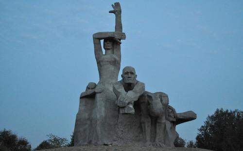Мемориал «Жертвам фашизма» в городеРостова-на-Дону