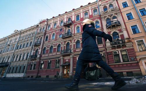 <p>Генеральное консульство США в Санкт-Петербурге</p>