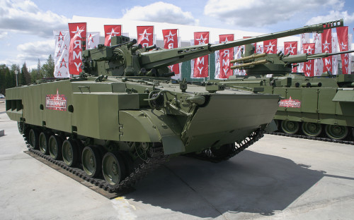 """Самоходный зенитный артиллерийский комплекс 2С38 """"Деривация-ПВО"""""""