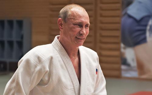 <p>Президент России Владимир Путин, октябрь 2012 года</p>