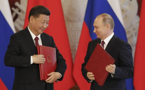 <p>Си Цзиньпин и Владимир Путин</p>  <p></p>